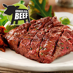 10 x 6-7oz Matured Free Range Flat Iron Steaks ****