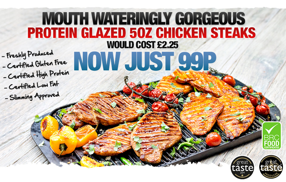 Protein Glazed Chicken