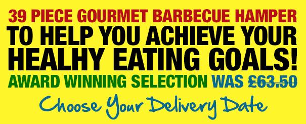 39 Piece Gourmet Barbecue Hamper