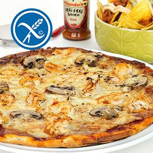 Hot Peri Peri Chicken Protein Pizza-350g ****