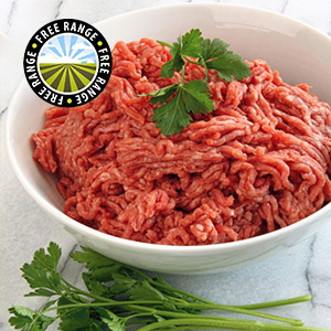 Extra Lean Free Range Steak Mince - 400g