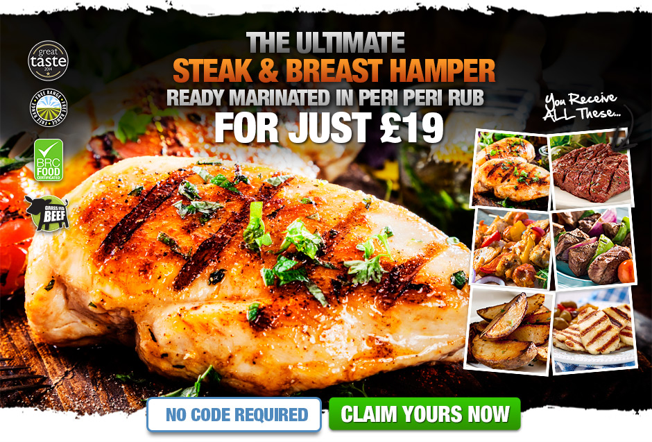 Medium Peri Peri Steak & Chicken Hamper