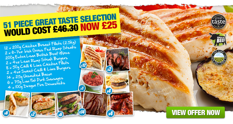 51 Piece Great Taste Selection £25