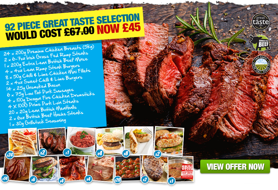 92 Piece Great Taste Selection £45