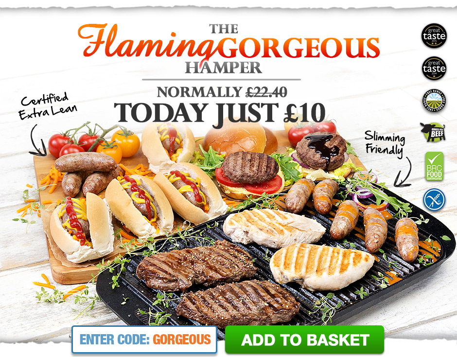 The Flaming Gorgeous Hamper