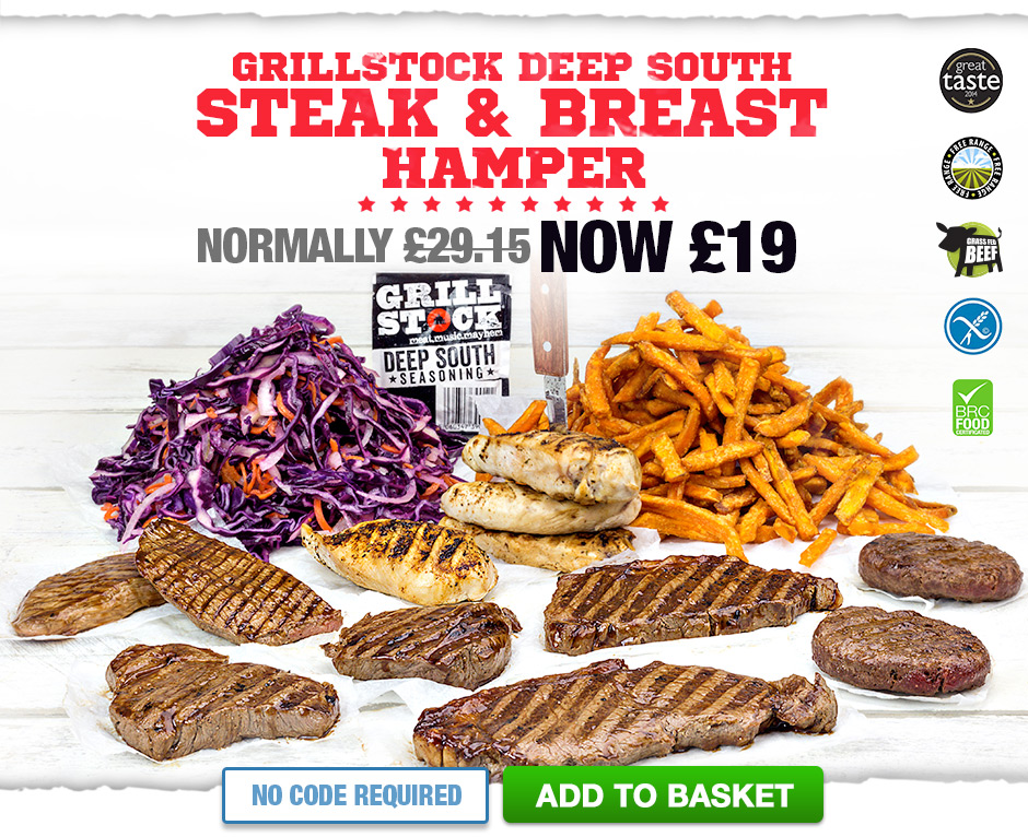 Grillstock Deep South Steak & Breast Hamper