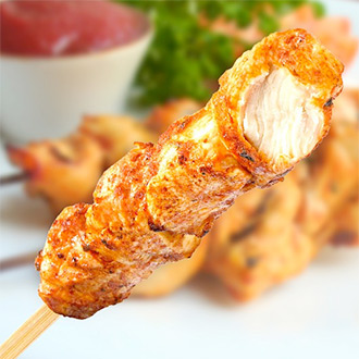 Ready To Eat Chinese Chicken On A Stick - 5 x 75g****