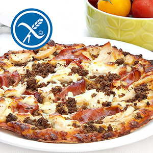 3 x 350g Mighty Meat High Protein Pizza