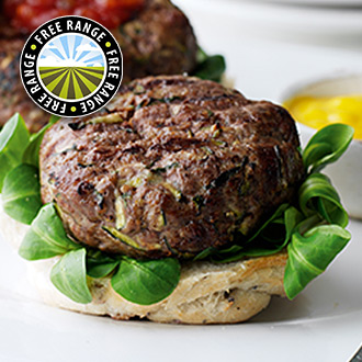 8 x 4oz Free Range Steak Burgers