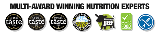 Multi-Award Winning Nutrition Experts