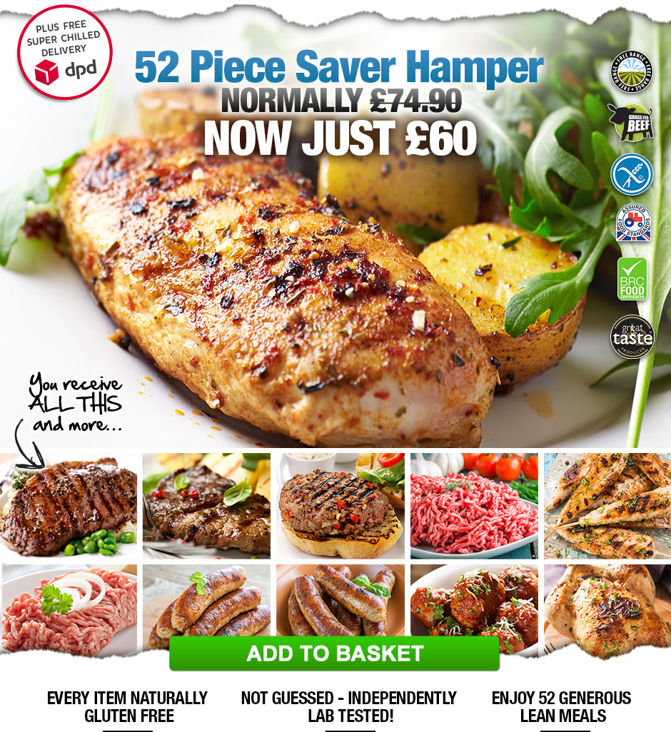 52 Piece Saver Hamper