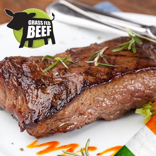 6 x 6-7oz Irish Grass Fed Sirloin Steaks