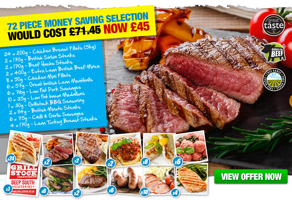 72 Piece Money Saving Selection