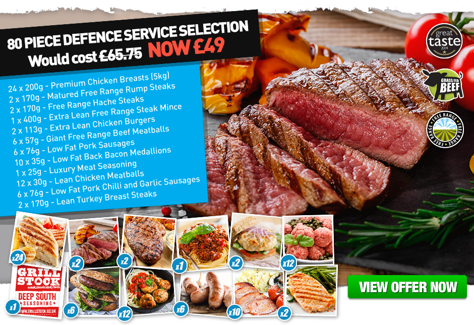 80 Piece Defence Service Selection