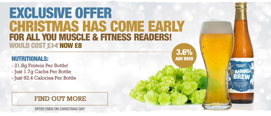 Offer For Muscle and Fitness