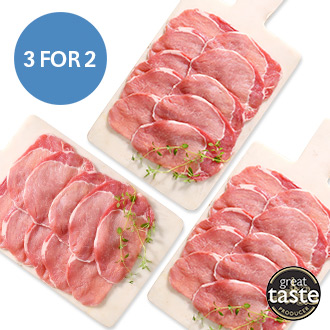 Low Fat Back Bacon Medallions - 3 For 2