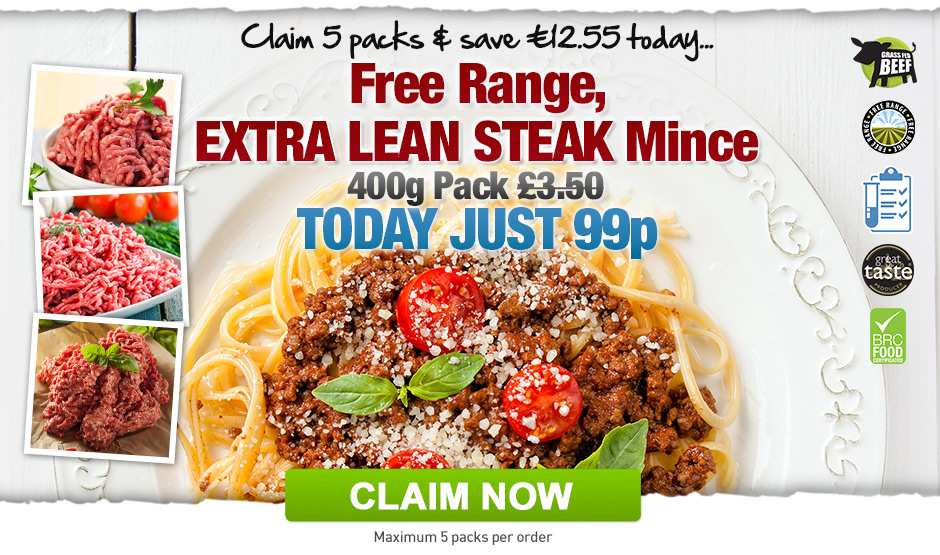 Free Range Extra Lean Mince