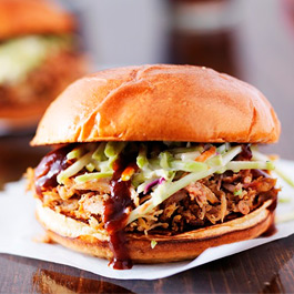Pulled Pork with Sweet BBQ Honey Sauce - 410g