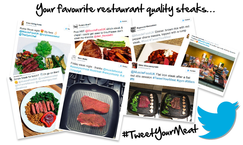 Your favourite restaurant quality steaks