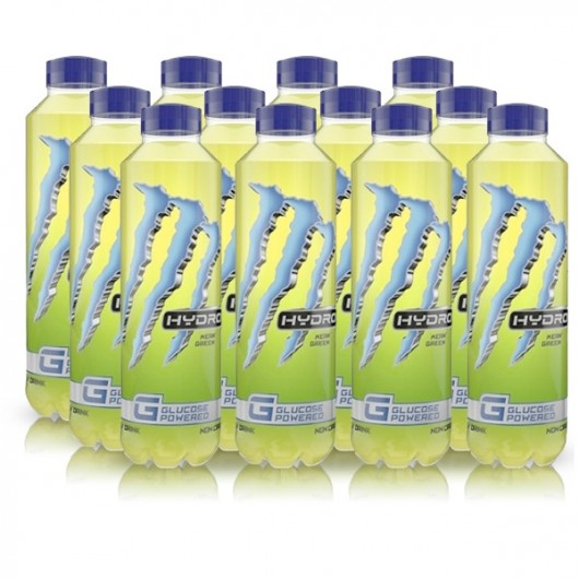 Monster Energy Hydro Mean Green - 550ml - 12 x 550ml