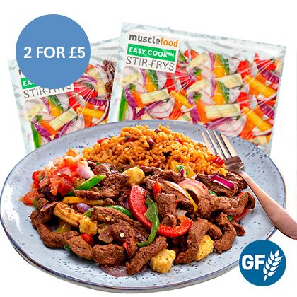 2 x Spicy Chilli Beef Stir Fry - 2 For £5