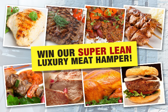 Win Our Super Lean Luxury Meat Hamper