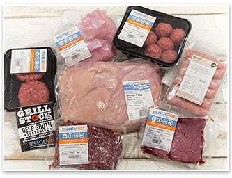 40 Piece Lean Meat Hamper