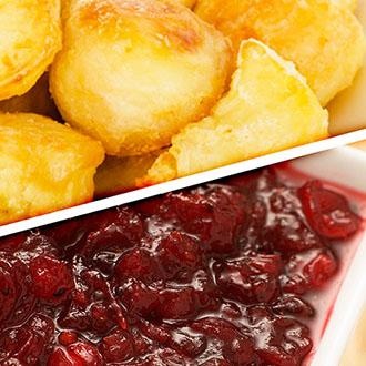 Goose Fat and Cranberry Sauce