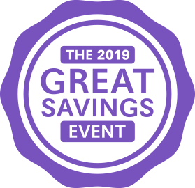 The 2019 Great Savings Event