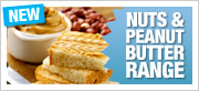 New! Nuts & Peanut Butter Range