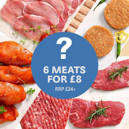 2 x Lucky Dip Meat Selection - Worth up to £20