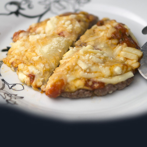 Meatza - Low Carb Meat Pizza