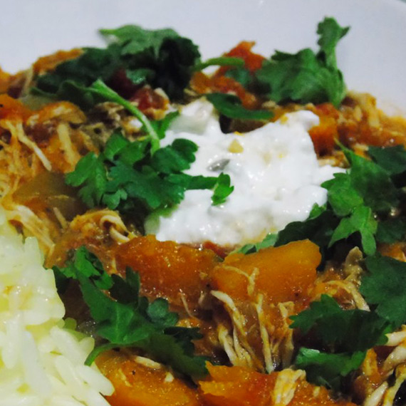Chicken Butternut Squash Curry