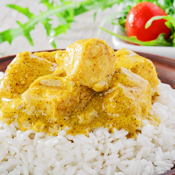 Healthy Chicken Peanut Korma