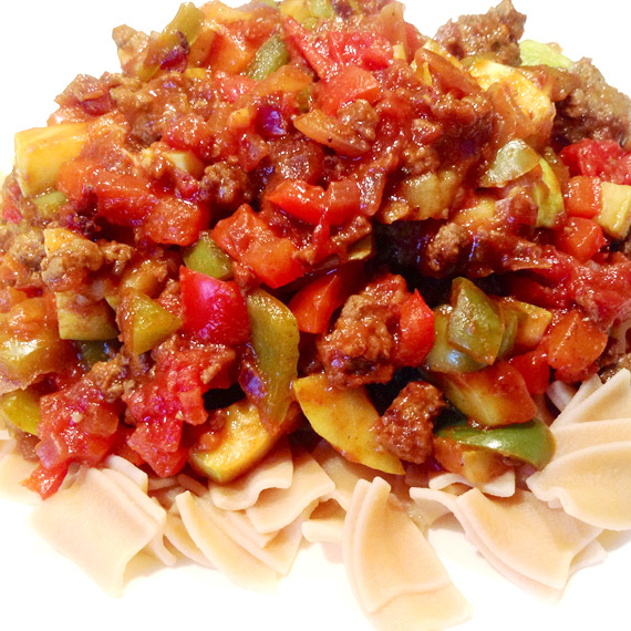 Healthy Chilli With Protein Pasta