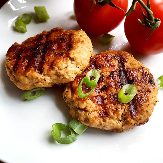Finger Lickin' Good Chicken Burgers