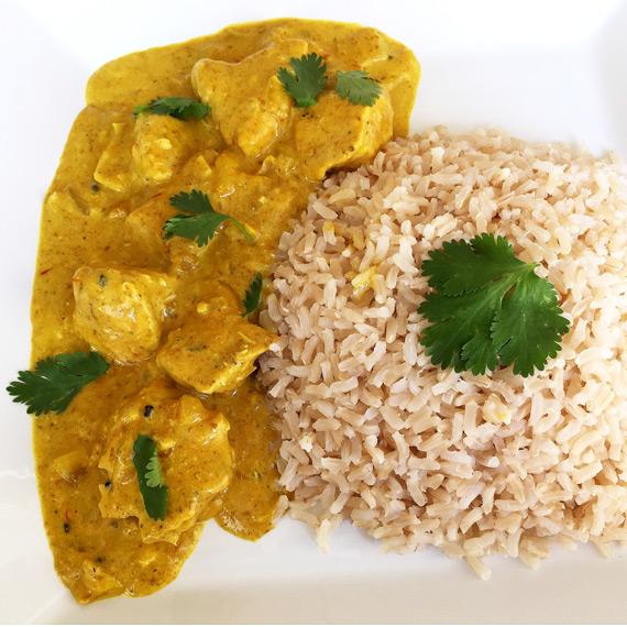Clean Chicken Korma Curry