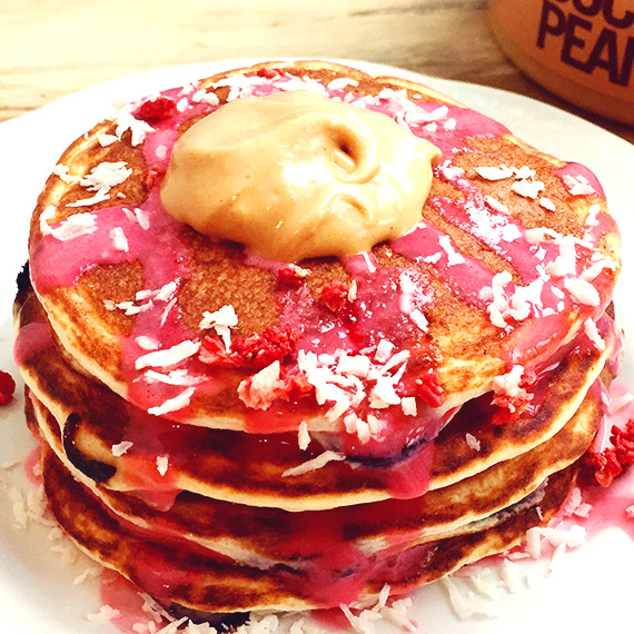 Cherry Pancakes