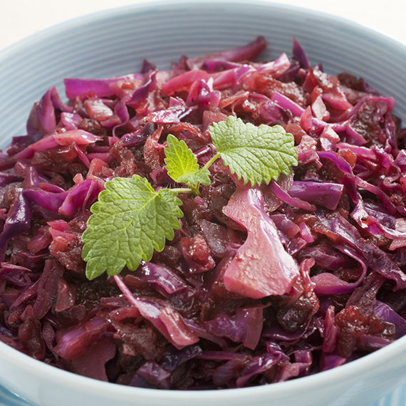 Gorgeous Braised Red Cabbage