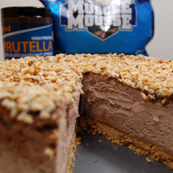 Prutella Protein Cheesecake