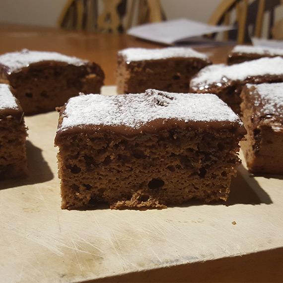 Prutella Chocolate Cake