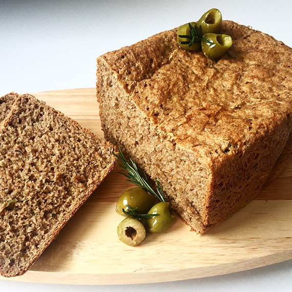 Olive and Rosemary Rye