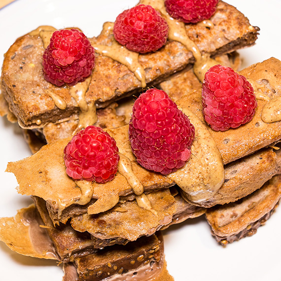 Chocolate Protein French Toast