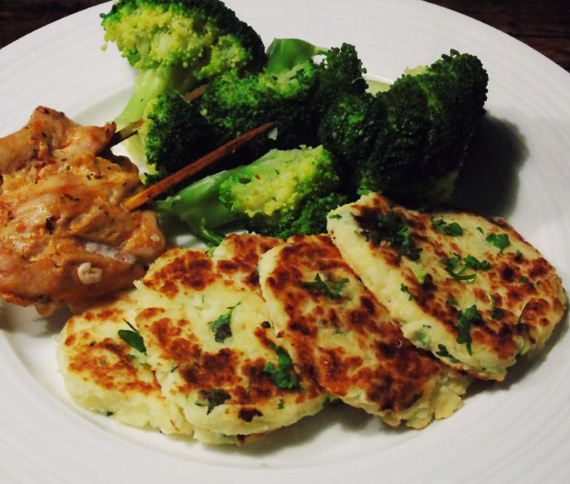 Pan Fried Potato Cakes
