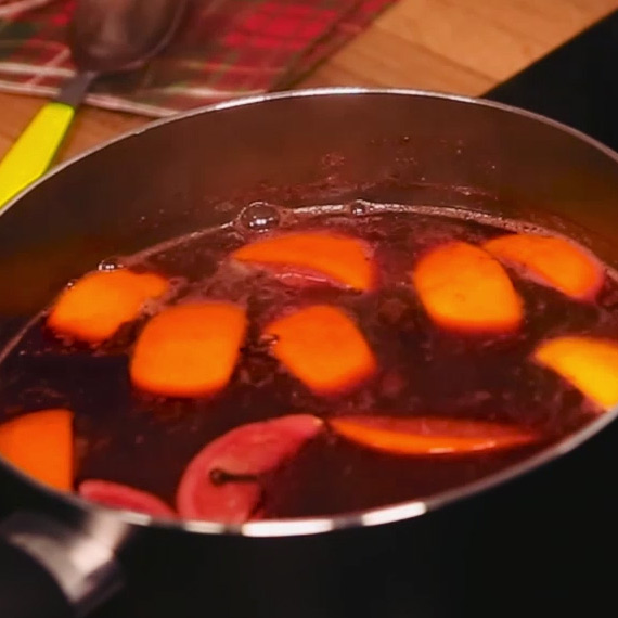 Healthy Mulled Wine