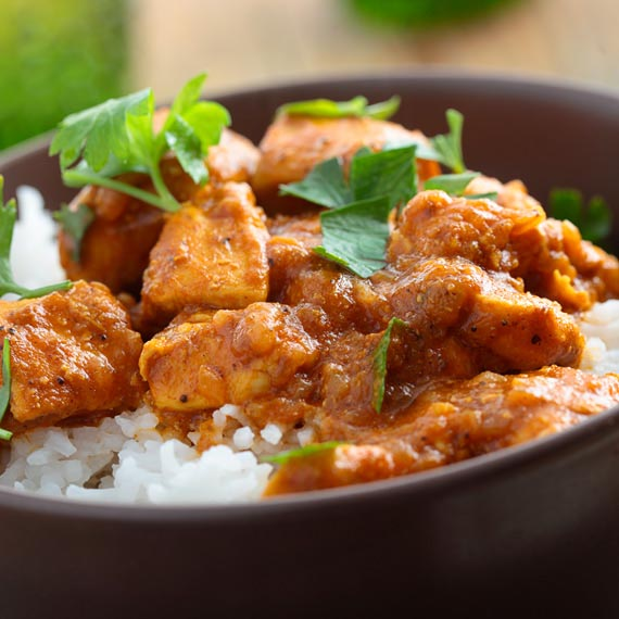 Healthy Turkey Curry