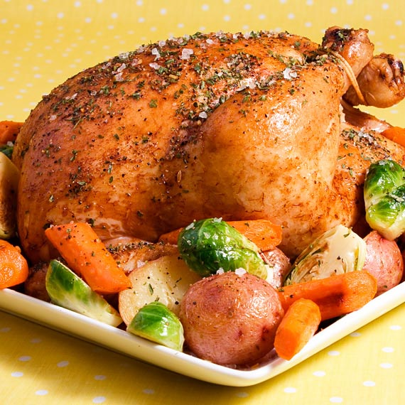 Zesty Herb Roast Chicken