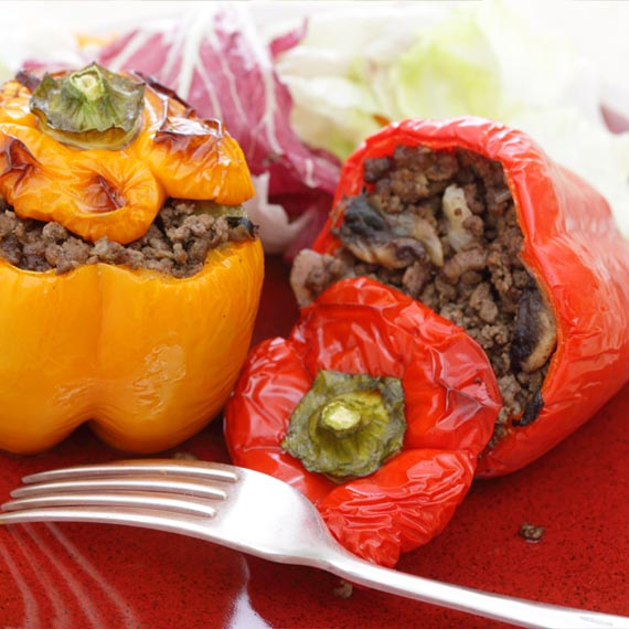 Exotic Stuffed Peppers