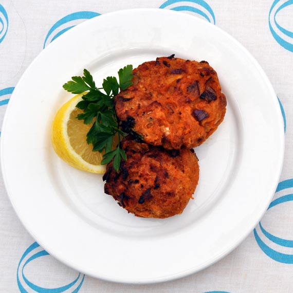 Tuna and Red Pesto Fish Cakes