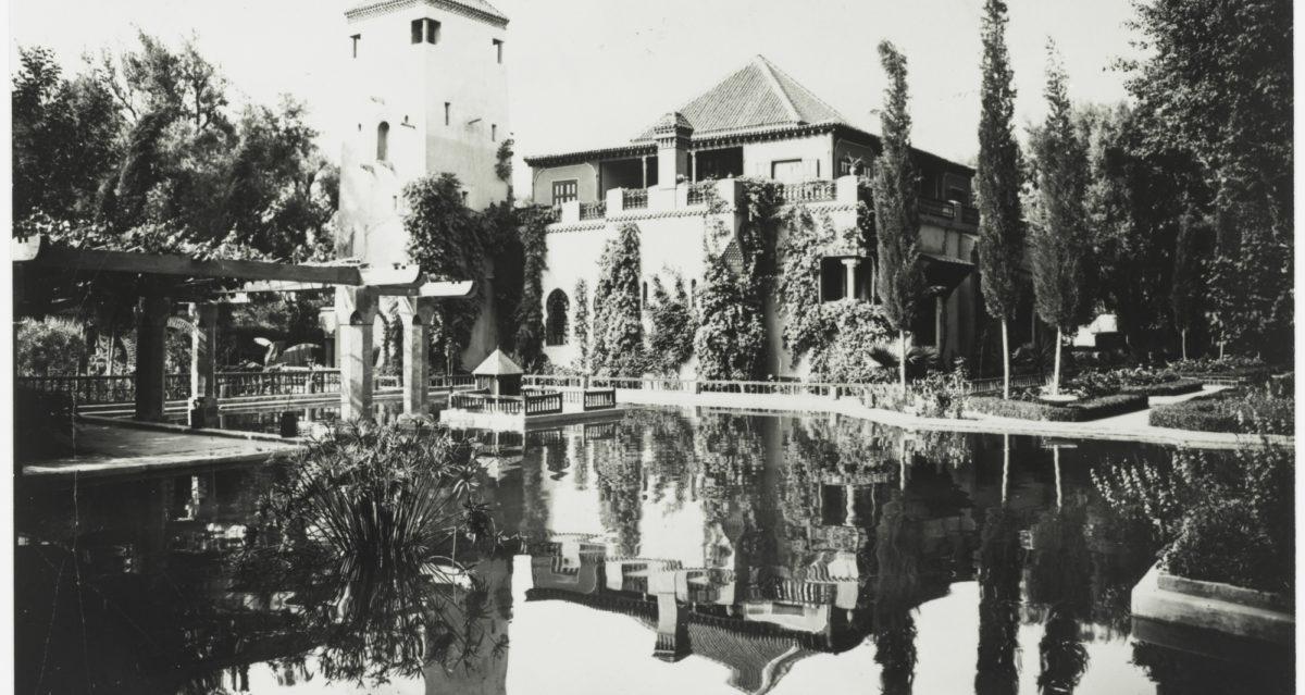 Acquisition of the villa oasis and the jardin majorelle for Jardin de la villa paris